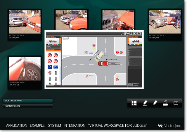 Unfall-Rapport: Zeichnung einer Unfallskizze online